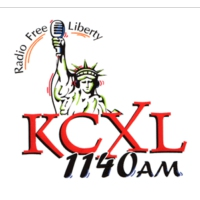 Logo of radio station KCXL 1140