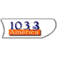 Logo de la radio Radio America FM 103.3