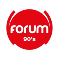 Logo of radio station Forum 90's