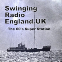 Logo of radio station Swinging Radio England.UK