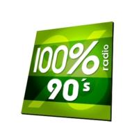 Logo de la radio 100% RADIO 90'S