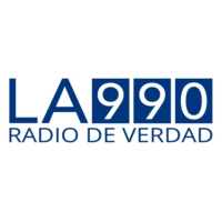 Logo of radio station AM990