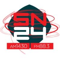 Logo of radio station LT24 Radio San Nicolas