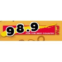 Logo of radio station 98.9 FM
