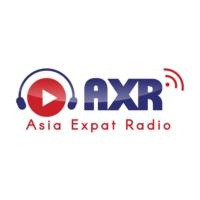 Logo of radio station AXR Singapore