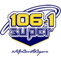 Logo of radio station XHPPO Súper 106.1