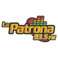 Logo of radio station XHEJ La Patrona 93.5 FM