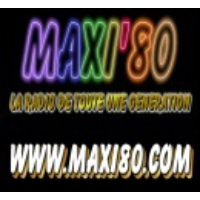 Logo of radio station MAXI 80 WEBRADIO