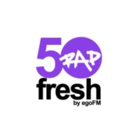 Logo de la radio 50fresh RAP - by egoFM