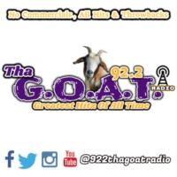 Logo of radio station 92.2 Tha' G.O.A.T. Radio