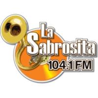 Logo of radio station XHCDH La Sabrosita 104.1 FM