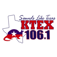 Logo of radio station KTTX 106.1 FM