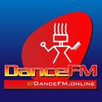 Logo of radio station Dance FM Chile