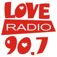 Logo of radio station Love Radio 90.7 FM