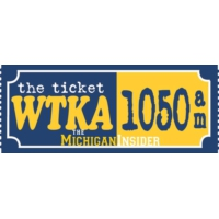 Logo of radio station WTKA Sport talk 1050