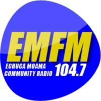 Logo de la radio EMFM 104.7