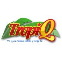 Logo of radio station TropiQ 99.7 FM