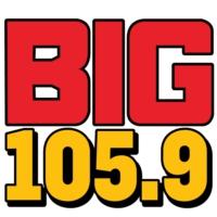 Logo de la radio WBGG-FM BIG 105.9