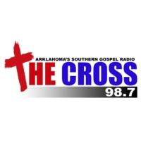 Logo of radio station KFSW 98.7 The Cross