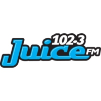 Logo of radio station CKGF 102.3 Juice FM