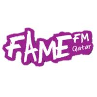 Logo of radio station Fame FM Qatar