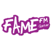 Logo of radio station Fame FM Qatar