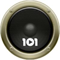 Logo de la radio 101.ru - Высоцкий