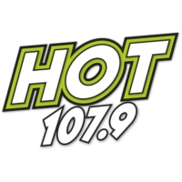 Logo of radio station Hot 107.9