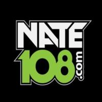 Logo of radio station Nate 108