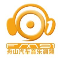 Logo of radio station FM91舟山文艺广播 - Zhenhai Art Radio