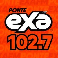 Logo de la radio XHQT Exa FM 102.7