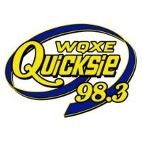 Logo de la radio WQXE 98.3 Quicksie