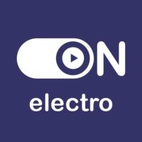 """Logo de la radio """"ON Electro"""""""