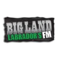 Logo of radio station CFLN-FM Big Land Labrador's FM