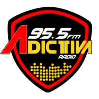 Logo of radio station XHCMM Adictiva 95.5 FM