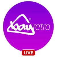 Logo of radio station Bay Retro