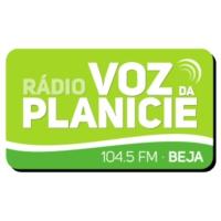 Logo of radio station Rádio Voz da Planície