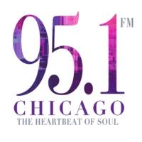 Logo de la radio 95.1 fm chicago