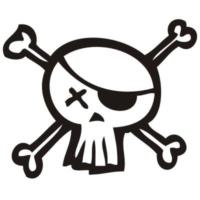 Logo of radio station Los Piratas