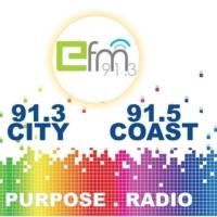 Logo de la radio Efm 91.3FM