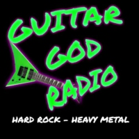 Logo of radio station Guitar God Radio