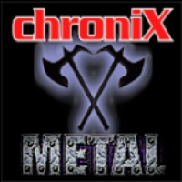 Logo of radio station ChroniX - METAL