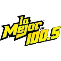 Logo of radio station XHVE La Mejor 100.5 FM