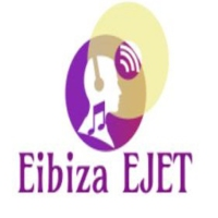 Logo of radio station Eibiza EJET