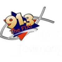 """Logo de la radio WFIX 91.3 """"The Fix"""""""
