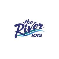 Logo of radio station CKKN-FM 101.3 The River