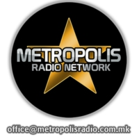 Logo of radio station Metropolis Radio Network