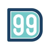 Logo of radio station D99 98.9 FM