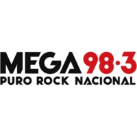 Logo of radio station Mega 98.3