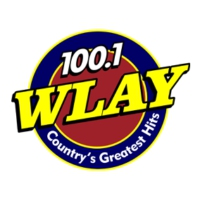 Logo of radio station WLAY 100.1 FM